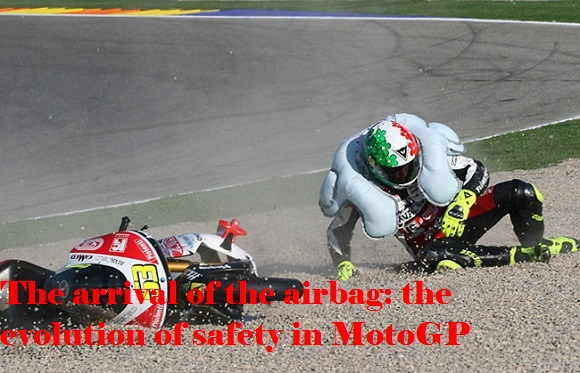 The arrival of the airbag: the evolution of safety inMotoGP