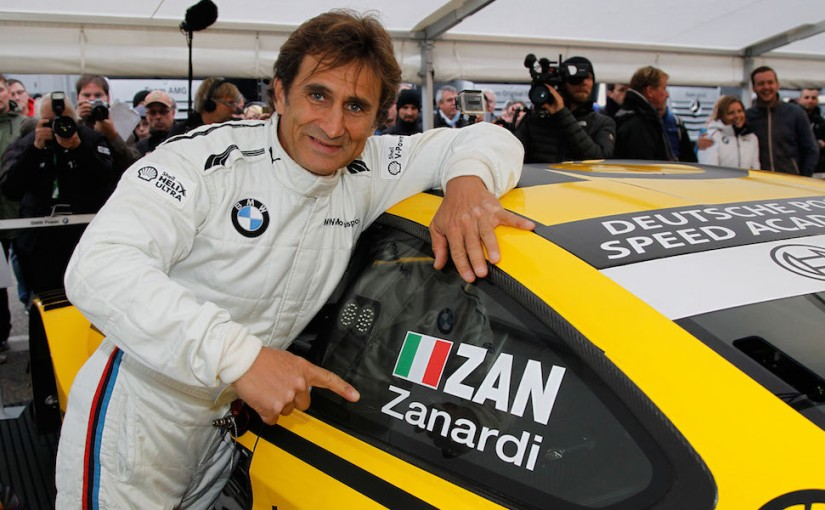 Alex Zanardi revine inmotorsport