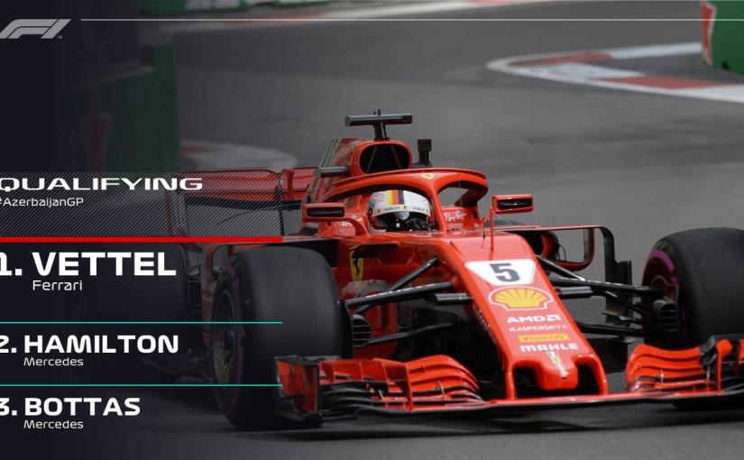 Vettel numărul 1 înFP3.