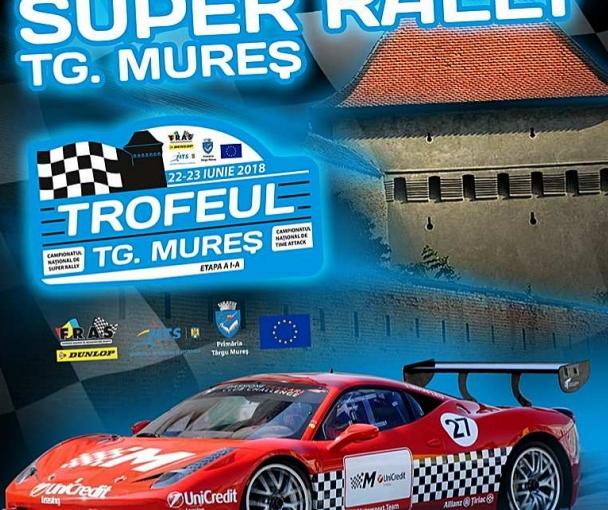 22-23 Iunie 2018 Super Rally Târgu Mureș se vede la LookTV