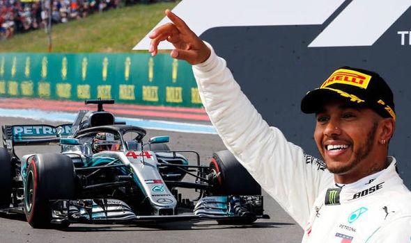 Lewis Hamilton norocos cu ploaia înQ3