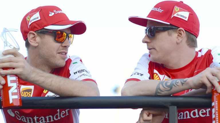'Pointless' blaming Vettel for errors –Räikkönen