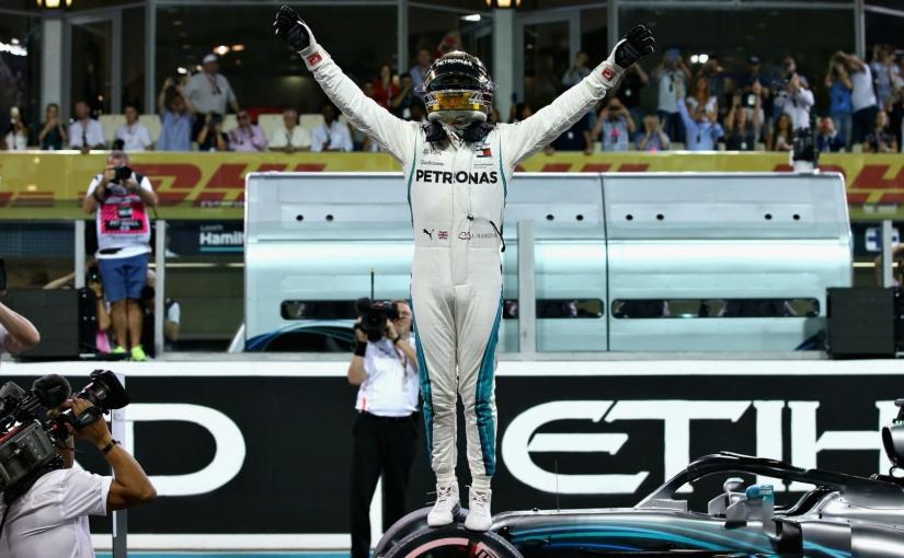 Ultima cursă a sezonului din Formula 1 se încheie cu încă o victorie a luiHamilton