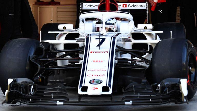 Kimi Räikkönen primele teste cu Sauber. blockstart.business