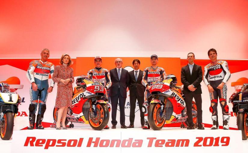 Repsol Honda și-a prezentat echipa de vis pentru2019
