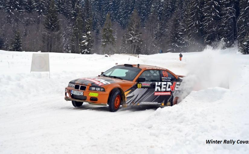 Winter Rally Covasna record deprezență