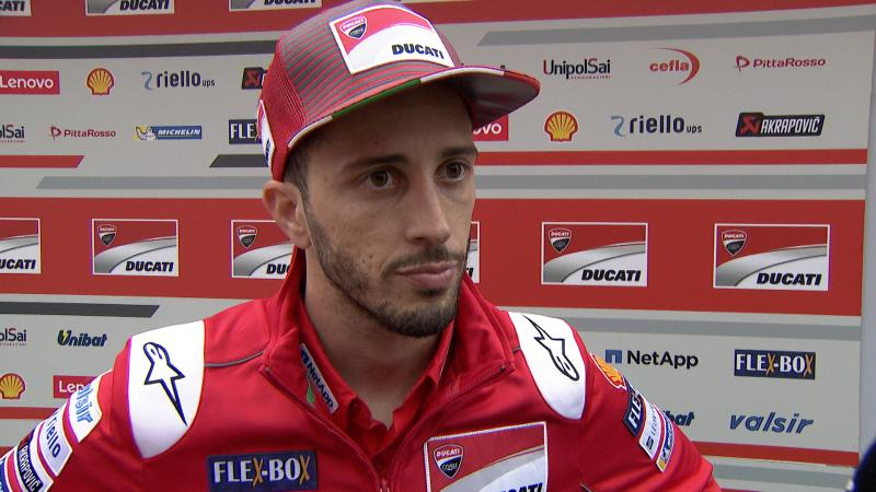 Pilotul Ducati Andrea Dovizioso supus unei intervenții cirurgicale deurgență