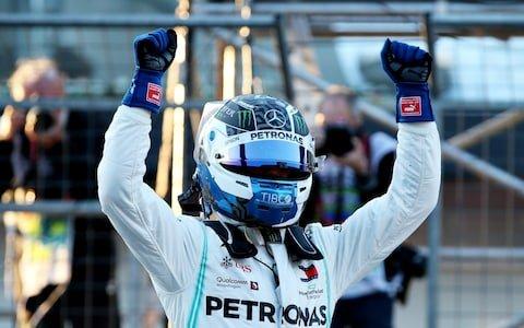 Valteri Bottas obține un nou pole-position  la Baku.Blockstart
