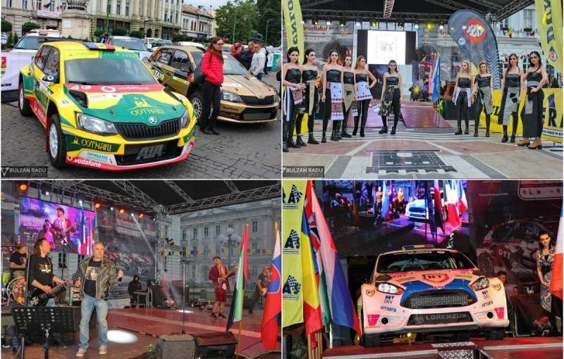 Start festiv la cea de-a XI ediție a raliuluiAradului