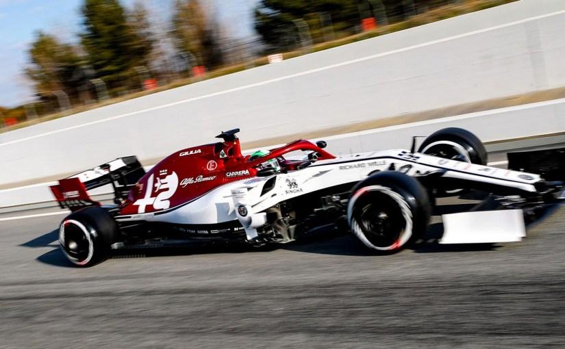 Alfa Romeo is stronger after two days of testing in Barcelona-KimiRaikkonen
