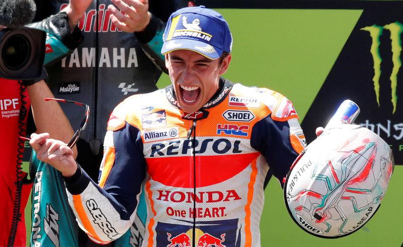 Marc Marquez la Honda pentru următorii 4ani.