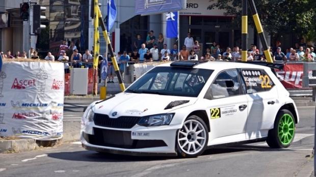 După victoria de la Târgu Mureș Costel Cășuneanu se impune și la Super RallyCraiova