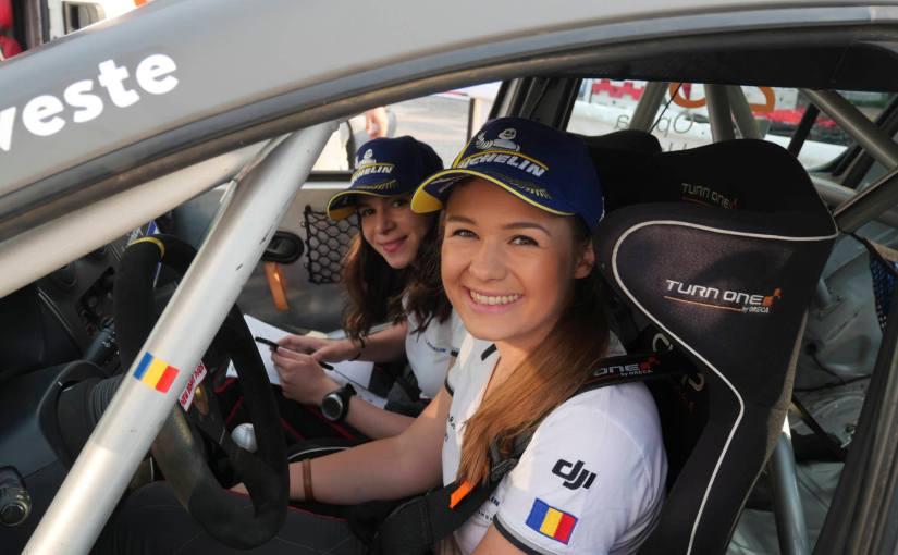 Cristiana Oprea și Diana Hațegan prezente la Transilvania Rally datorită unui nousponsor