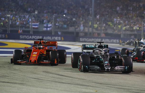 Formula1-Mercedes și Ferrari și-au împărțit primele două sesiuni de antrenamente din NewMexico