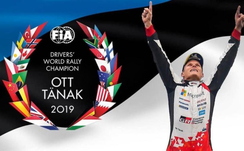 WRC. Ott Tanak este campionul din2019