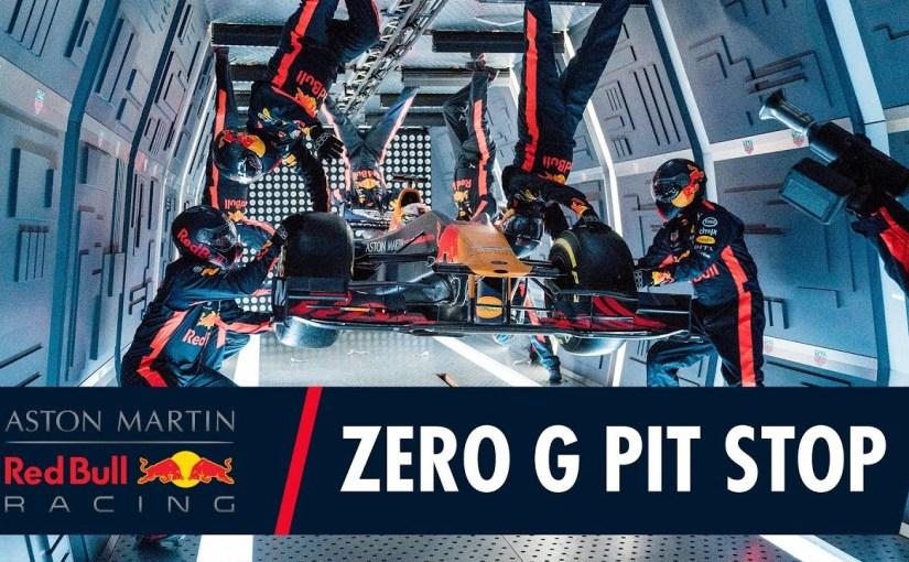 Pit Stop la 10.000 de metri efectuat de echipa Red Bull.Video