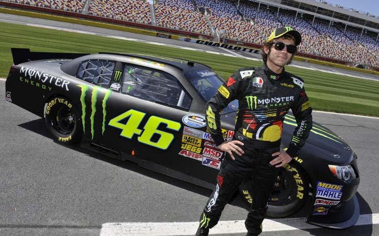 """Valentino Rossi- """"Când mă voi retrage din competițiile moto, voi alerga în anduranță pe patruroți."""