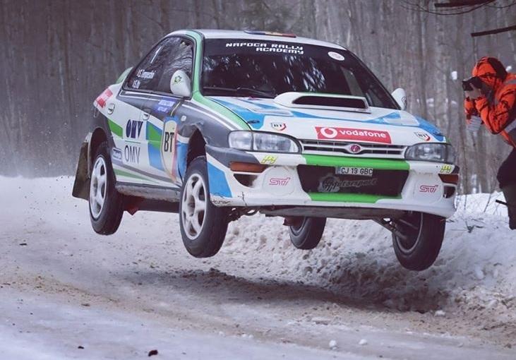 Winter Rally Covasna câștigat de campionul naționalabsolut.