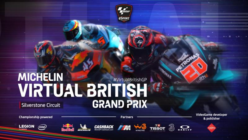 Lorenzo takes wildcard win at Virtual British GrandPrix