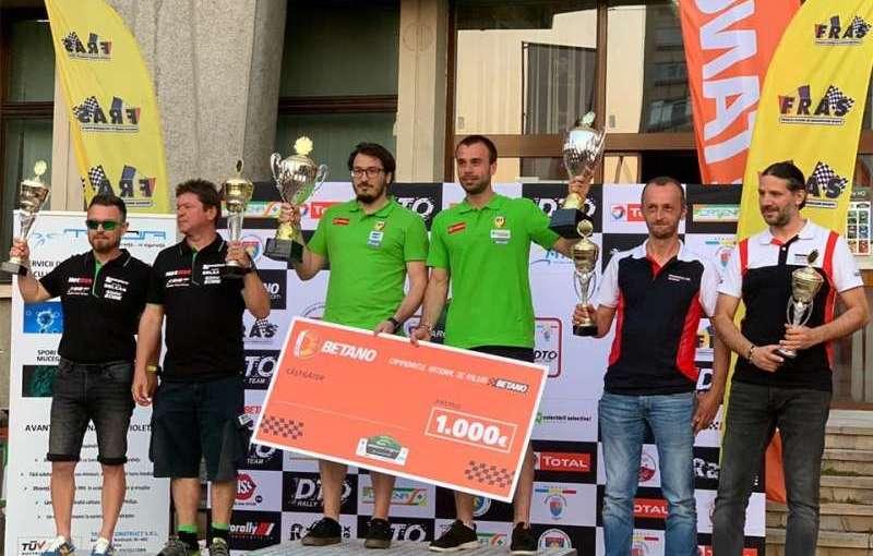 Napoca Rally Academy este echipa câștigătoare de la RaliulArgeșului.